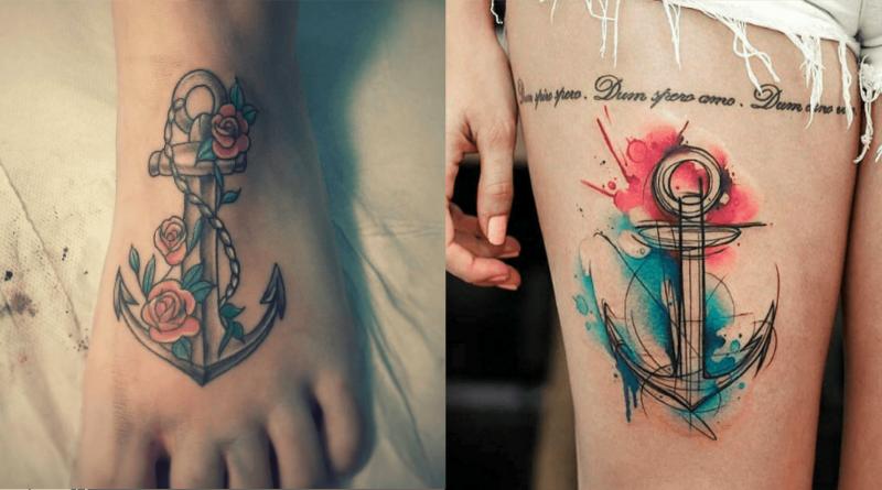 La symbolique des tatouages : L'ancre
