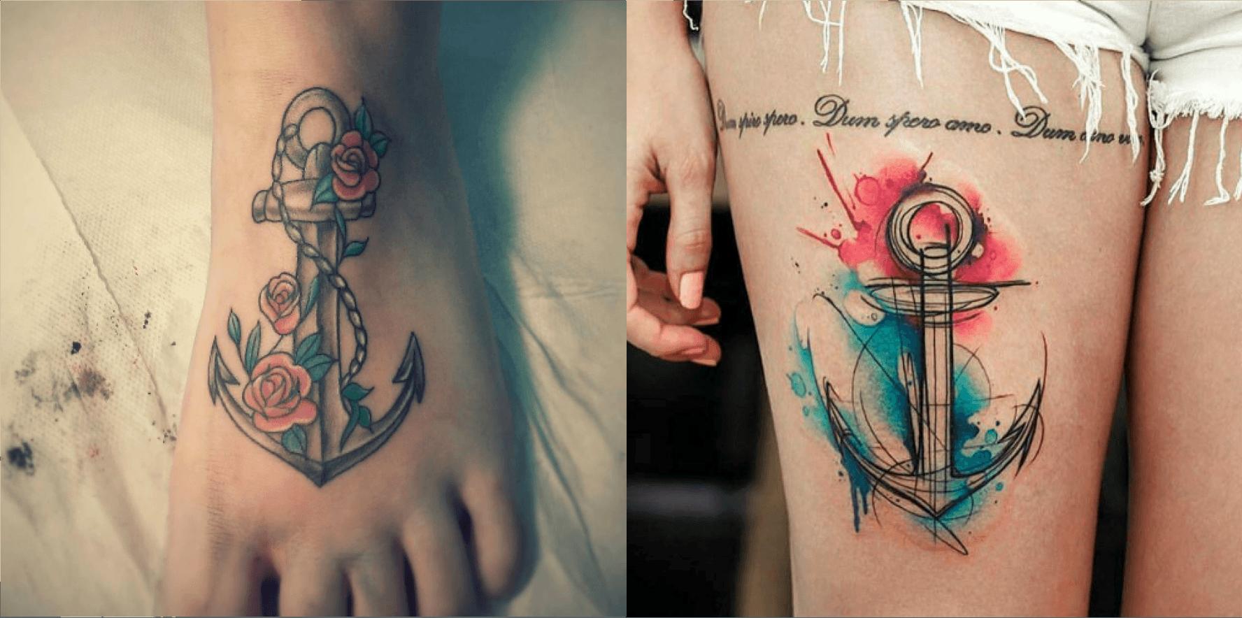 La symbolique des tatouages : L'ancre - What's up Tattoo