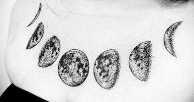 La symbolique des tatouages : La Lune