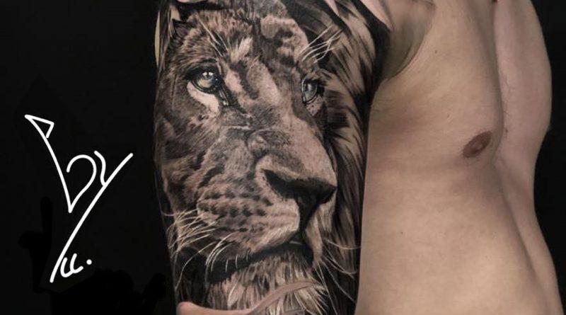La symbolique des tatouages : Le Lion