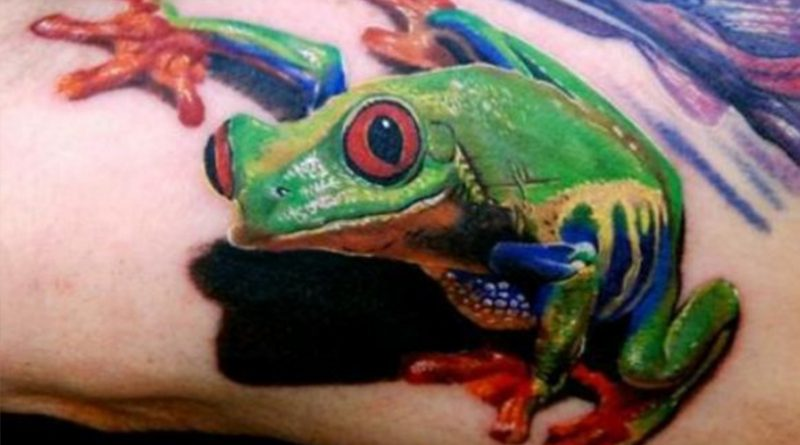 La symbolique des tatouages : La Grenouille