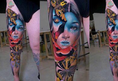 Jay Freestyle & Debora Cherrys - Tattoo Timelapse | Milano Tattoo Convention 2019