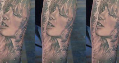 Bryan Merck - Tattoo Timelapse
