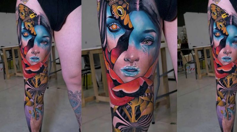 Jay Freestyle & Debora Cherrys - Tattoo Timelapse | Milano Tattoo Convention 2019