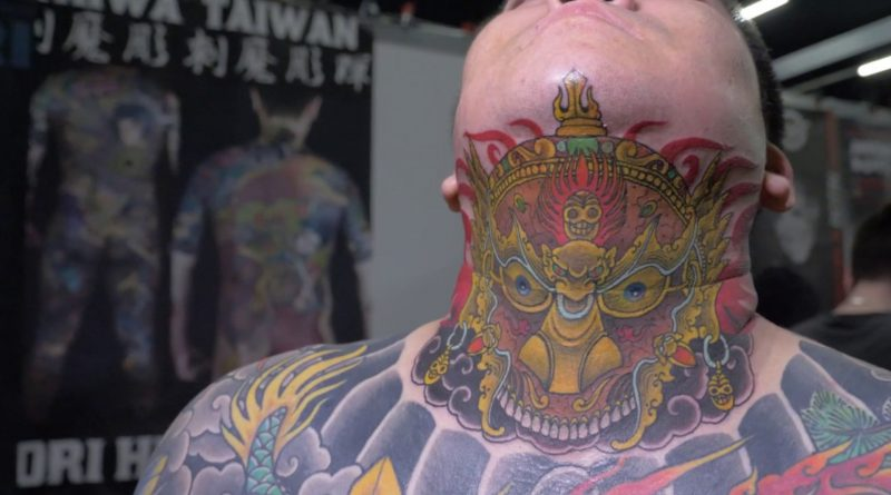 Hori Hui - Tattoo Timelapse | Milano Tattoo Convention