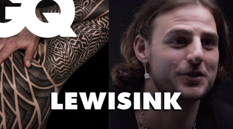 Lewisink, le tatoueur spécialiste du dotwork et des full body géométriques, raconte le métier à GQ