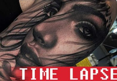 Florin Zaharia - The artist - Tattoo time lapse- 2nd session